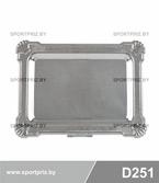 Металлическая сувенирная тарелка под гравировку D251