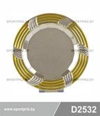 Сувенирная тарелка под гравировку D2532
