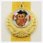 Медаль для выпускника 4 см. VIP-ленте